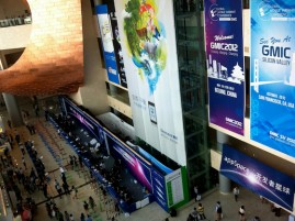Reception at GMIC 2012