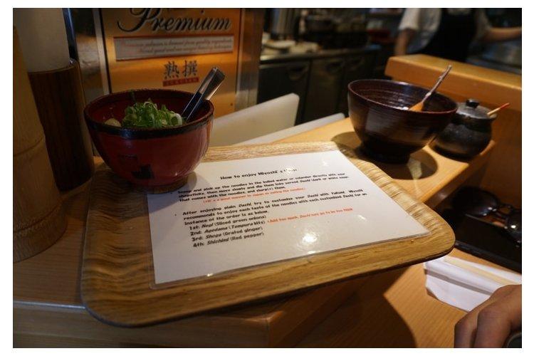 restaurant progressive disclosure instructions