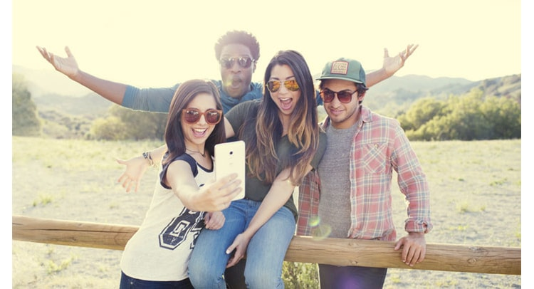millennials experience social use of phones