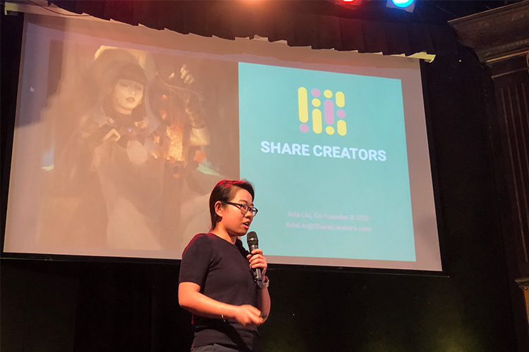Asian Night third place Share Creators