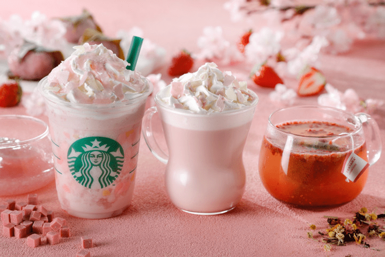 Starbucks Sakura Drinks
