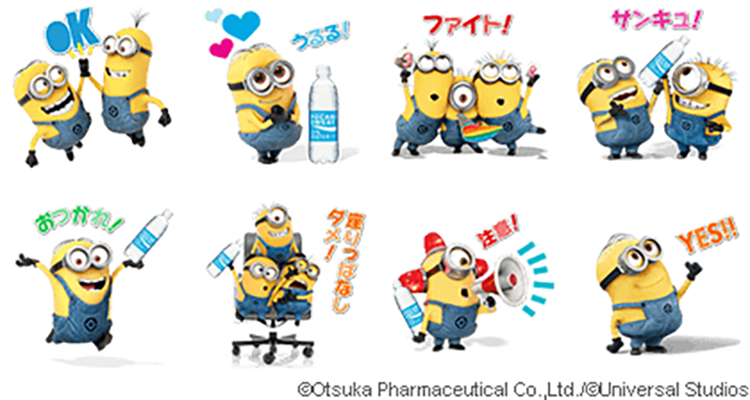LINE-minions-stickers
