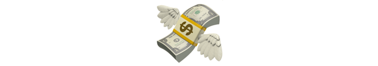 Japanese_emoji_flying_bills