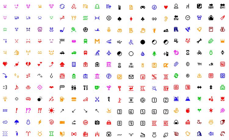 NTT-DOCOMO-emojis-1999