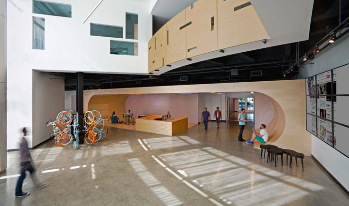 Silicon Valley Trends in Office Design