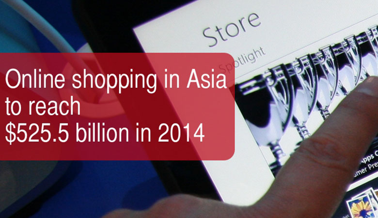 [INFOGRAPHIC] E-Commerce in Asia