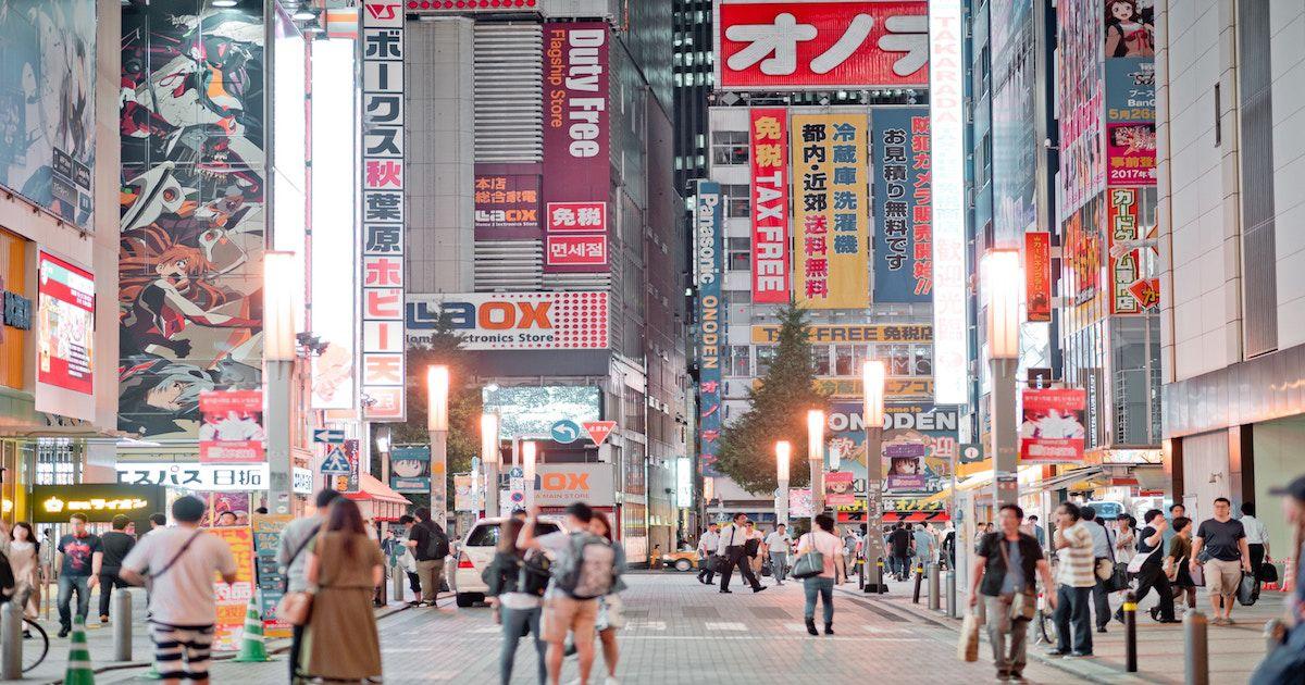 Trending online services in Japan
