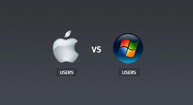 WindowsとMACユーザー別:特性・生活習慣の違い