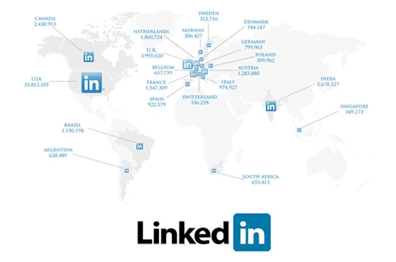 統計で見る海外ユーザーのLinkedInの使い方