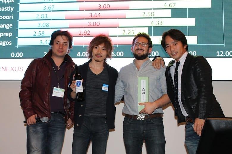 優勝は同率で日本のRingとシリコンバレーのFeastly ! - JapanNight プレイベント @DraperNexus -