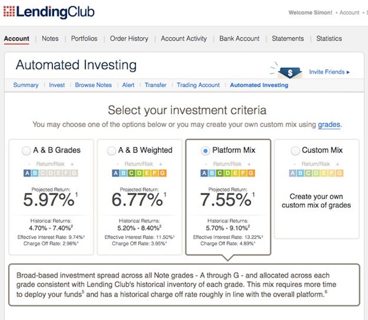 Lending-Club-Automated-Investing-Tool