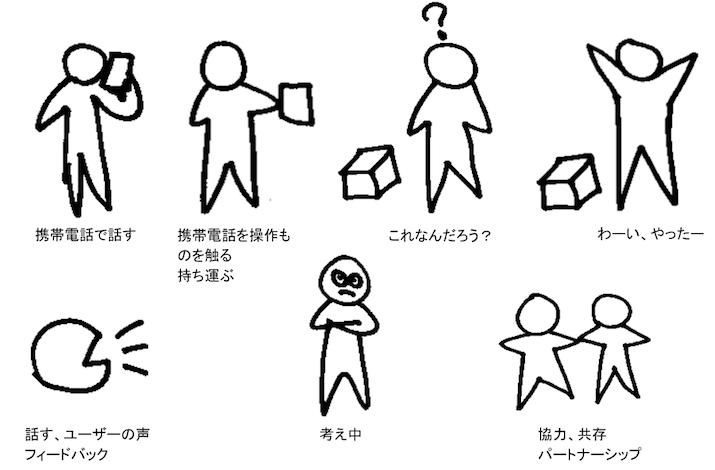 doodle men