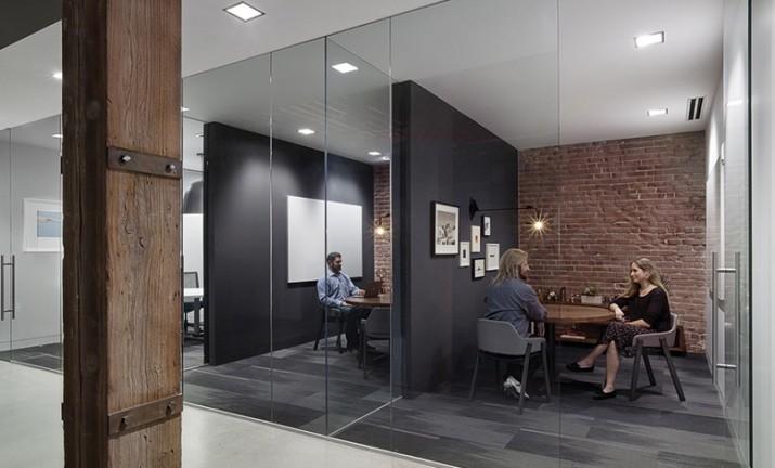 面接が行われている、Weeblyのサンフランシスコオフィス