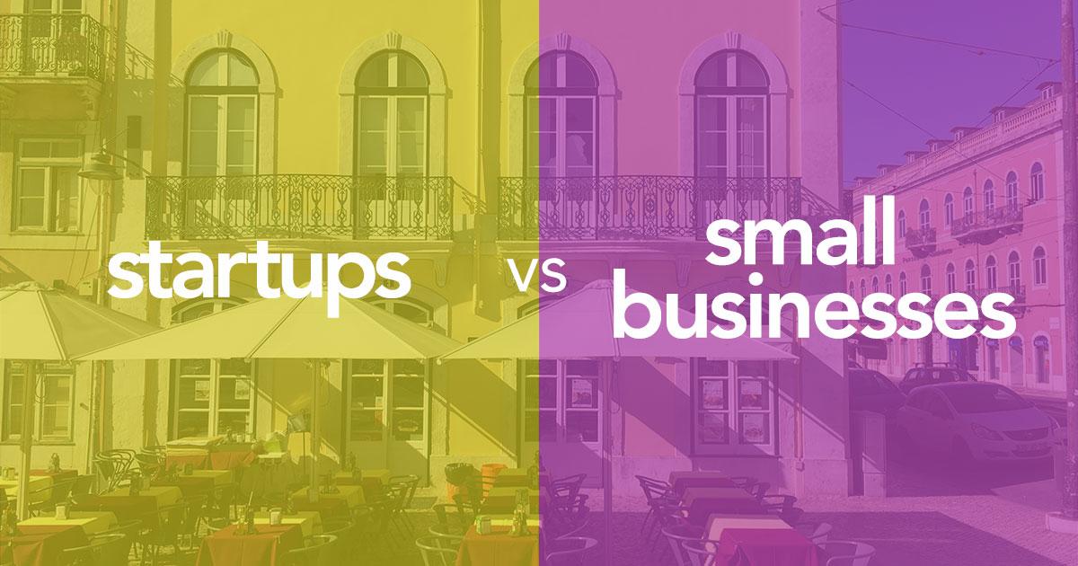 スタートアップと中小企業 (スモールビジネス) との違い