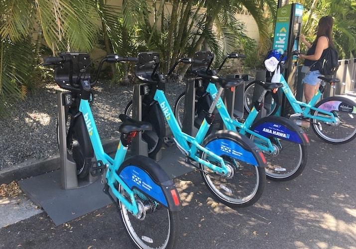 Hawaii sharing bike