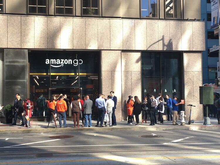 Amazon Go in San Francisco
