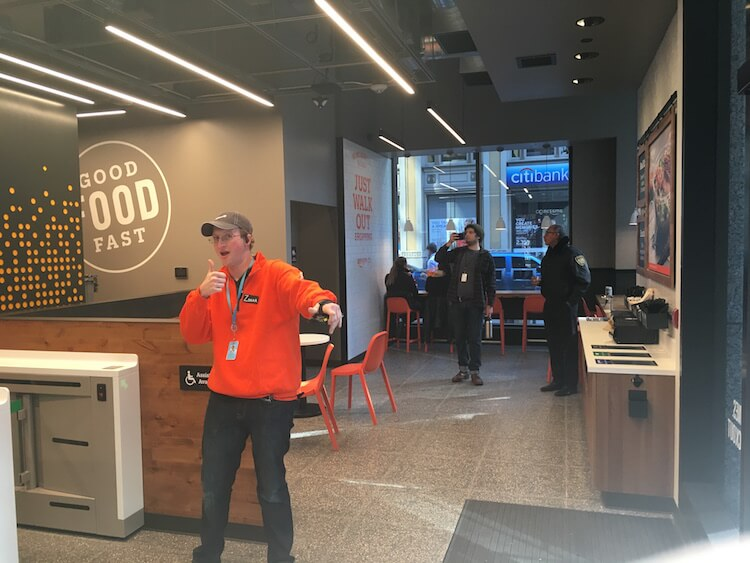 Amazon Go in San Francisco Good Food Fast