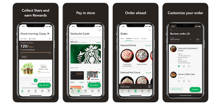 Starbucks UX/UI
