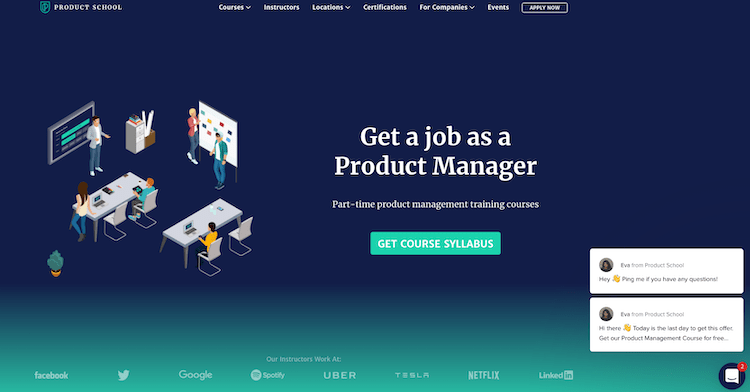 product school website