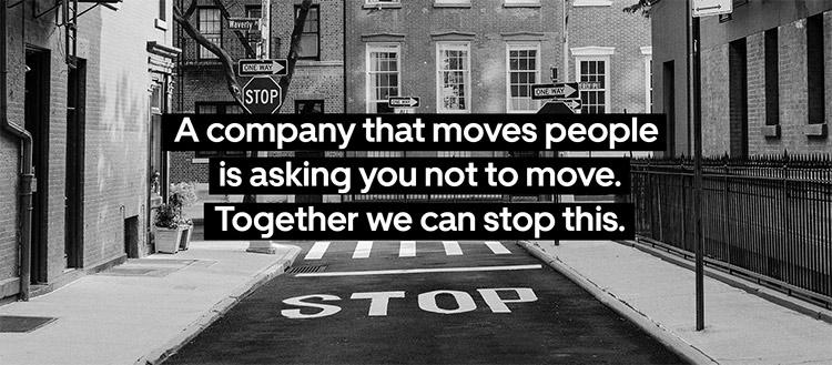 Uber stop