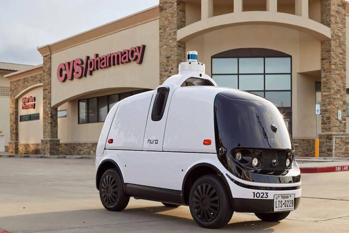 delivery robot car nuro