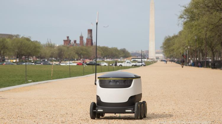 starship technologies food delivery robot