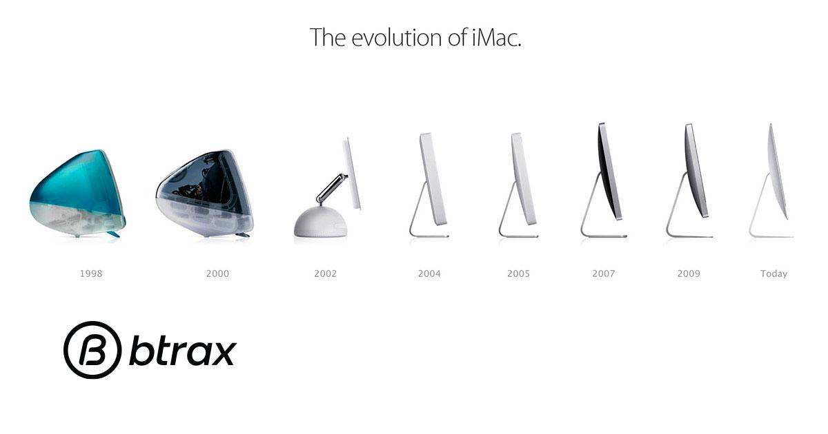 Appleの復活と躍進のシンボル iMacの進化をデザイン視点で振り返る