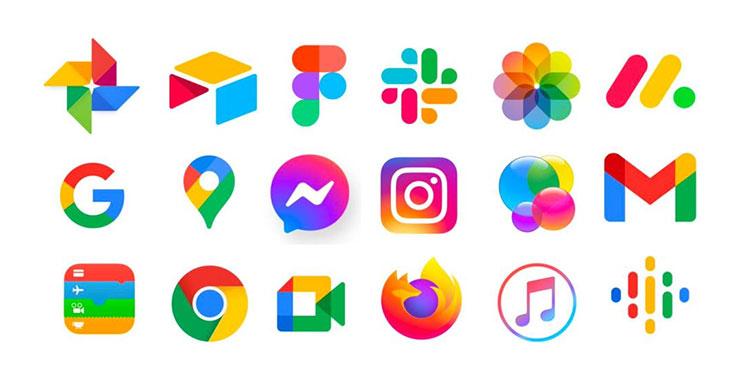 modern design icons