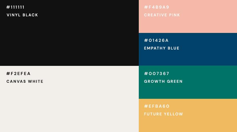 btrax color pallet