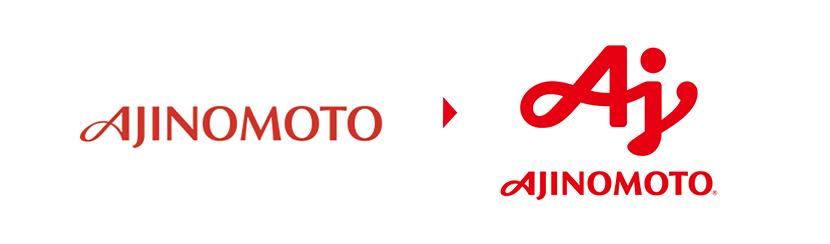 よりシンボルを中心になった新しい味の素のロゴ