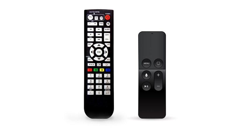 ボタンの数が少ないほどありがたいテレビのリモコン