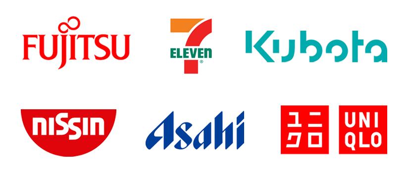 シンボルっぽい文字のロゴ例