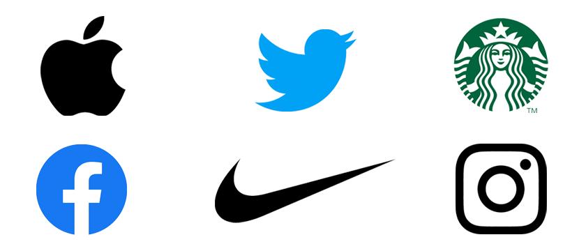 シンボルだけのアメリカブランドロゴ